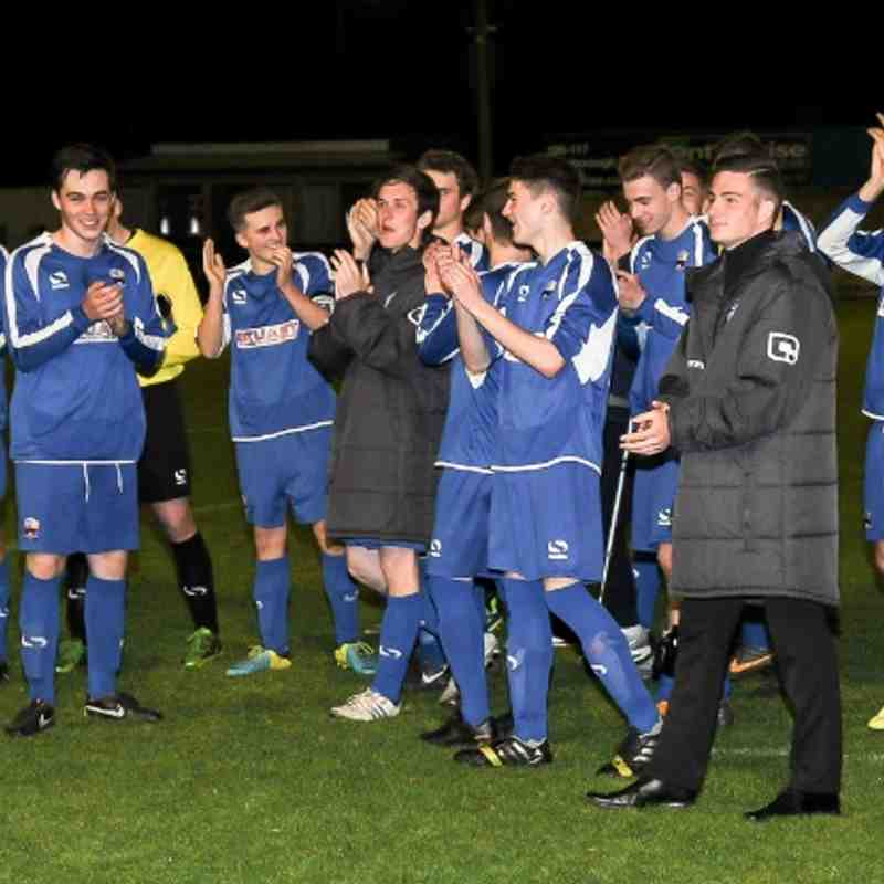 Nuneaton Town Midland Floodlit Youth League Champions