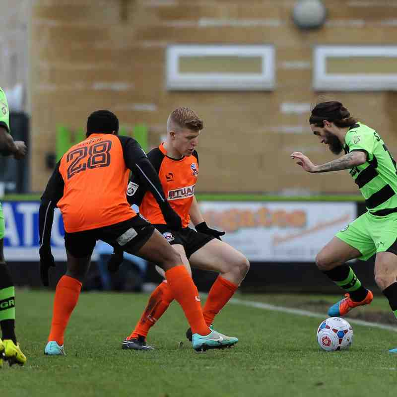 Nuneaton Town V Forest Green Rovers (Away) By Simon Kimber