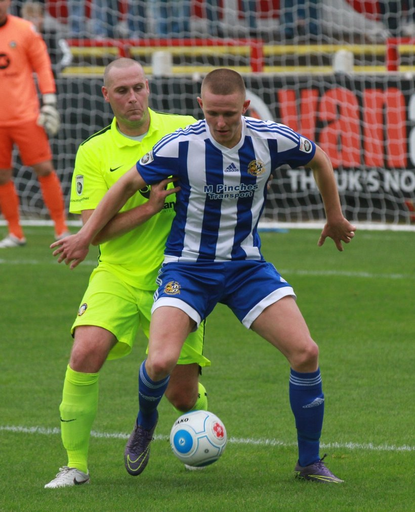 Full Time: City 5-3 Alfreton Town - News - Worcester City FC