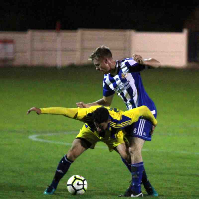 Worcester City v Coventry Sphinx 3/10/17