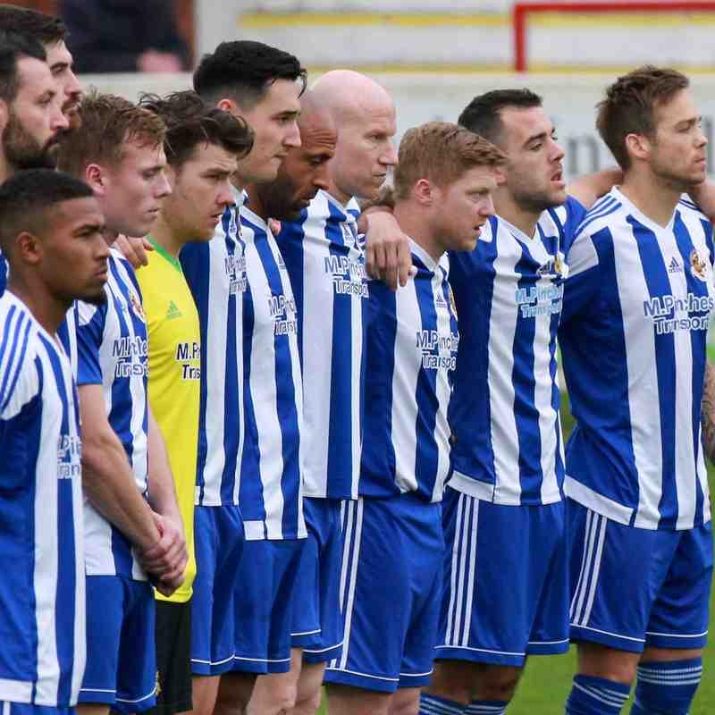 Worcester City v Highgate United FAV 11/11/17