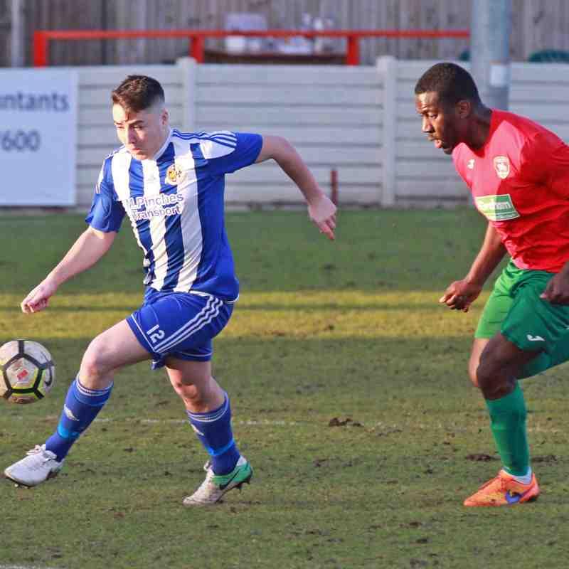 Worcester City v Coventry Utd 17/2/18