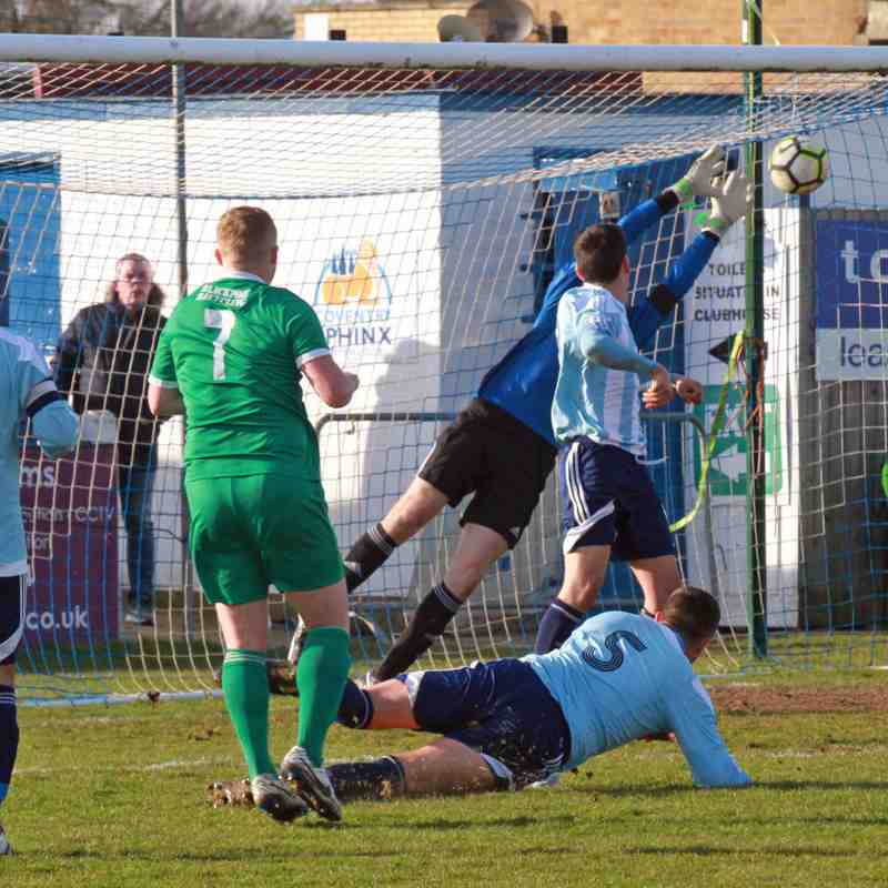 COVENTRY SPHINX V WORCESTER CITY 24/2/18