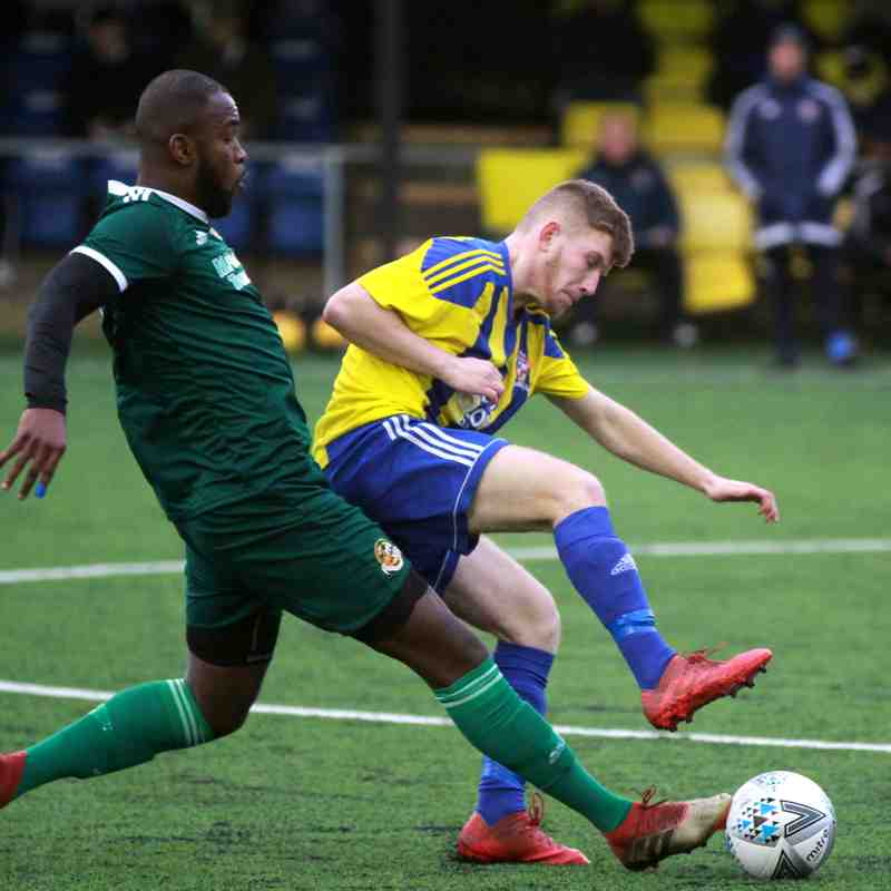 Sporting Khalsa v Worcester City 8/12/18