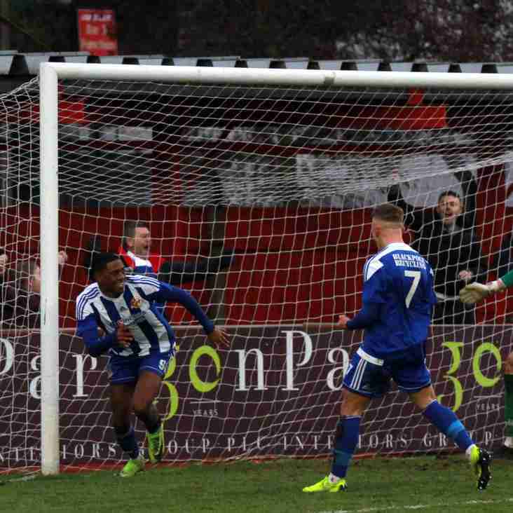 All the goals from our game at Ilkeston
