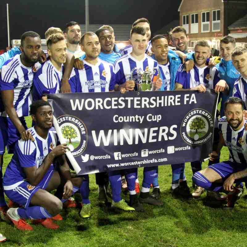 Worcester City v Studley 11/4/19 Worcs Senior Urn FINAL
