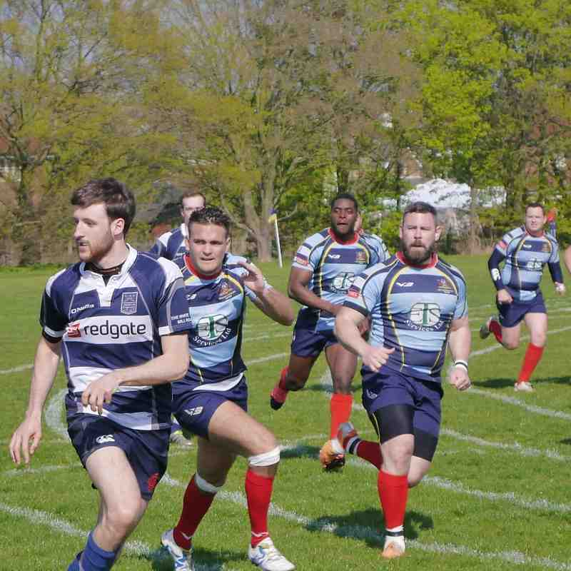 Coopers vs Cantabrigian 08.04.2017:     44 - 36
