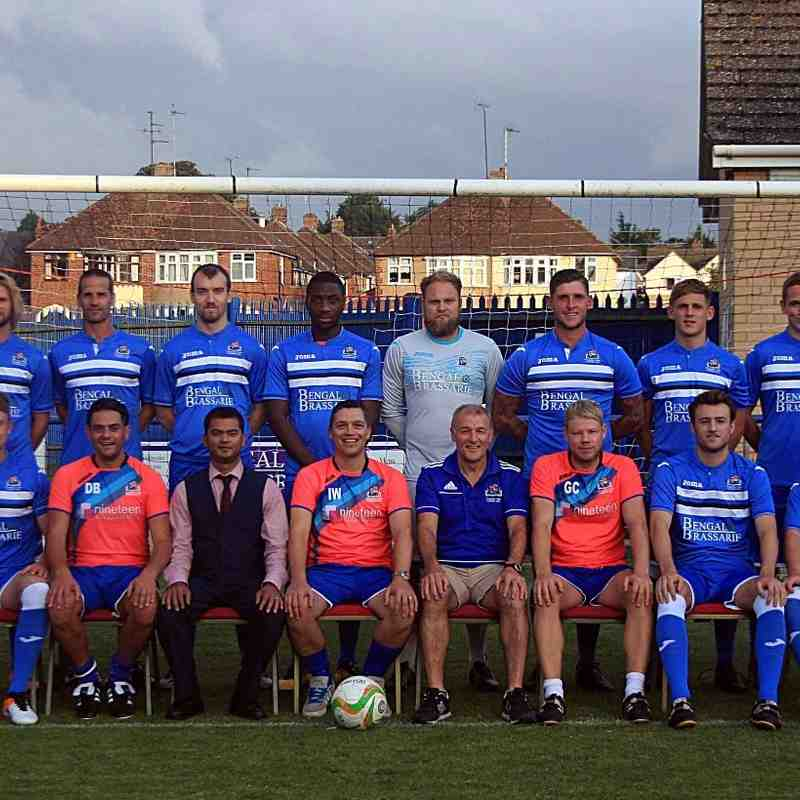 Thrapston Town FC 2016-17 squad