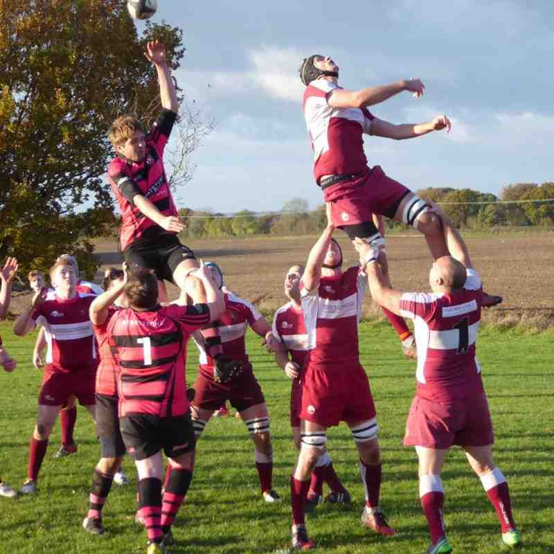 Second XV v Aylesbury 2XV - Sat  5 Nov 2016
