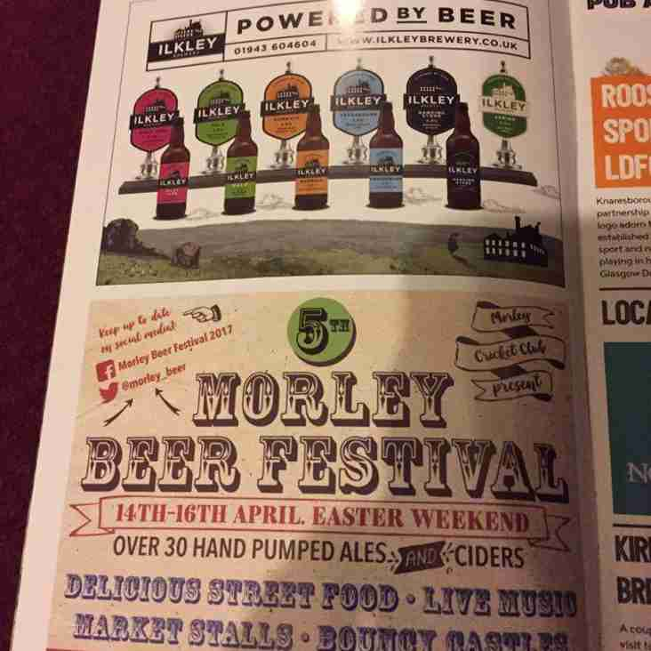 Beer Festival Marketing Update