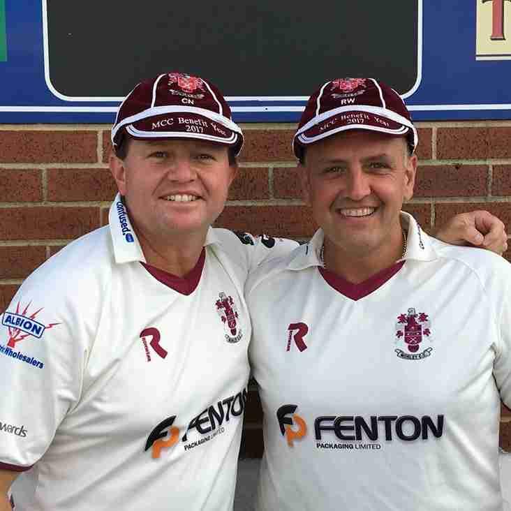 Colin Nuthall & Richard Winn Benefit Game - 23/07/17