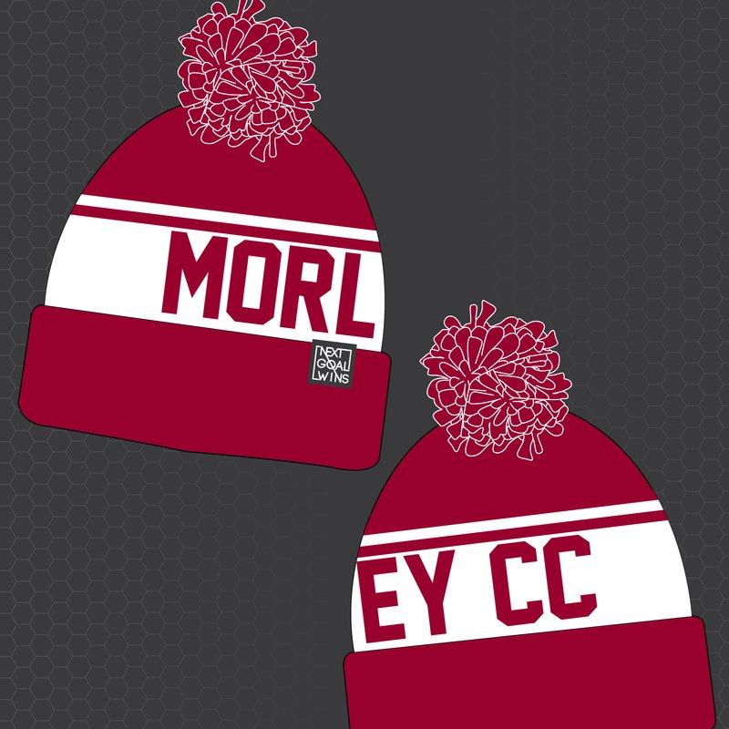2018 Morley Cricket Club Bobble Hats