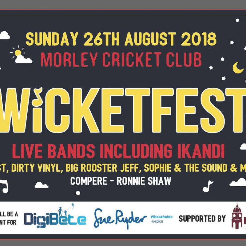Wicketfest this weekend .....can you help?