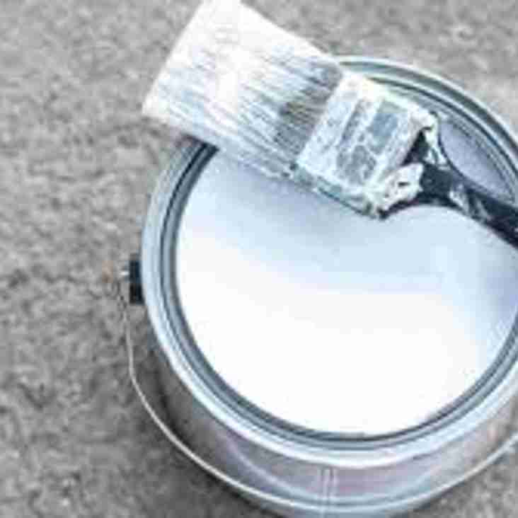 Unwanted white paint.....