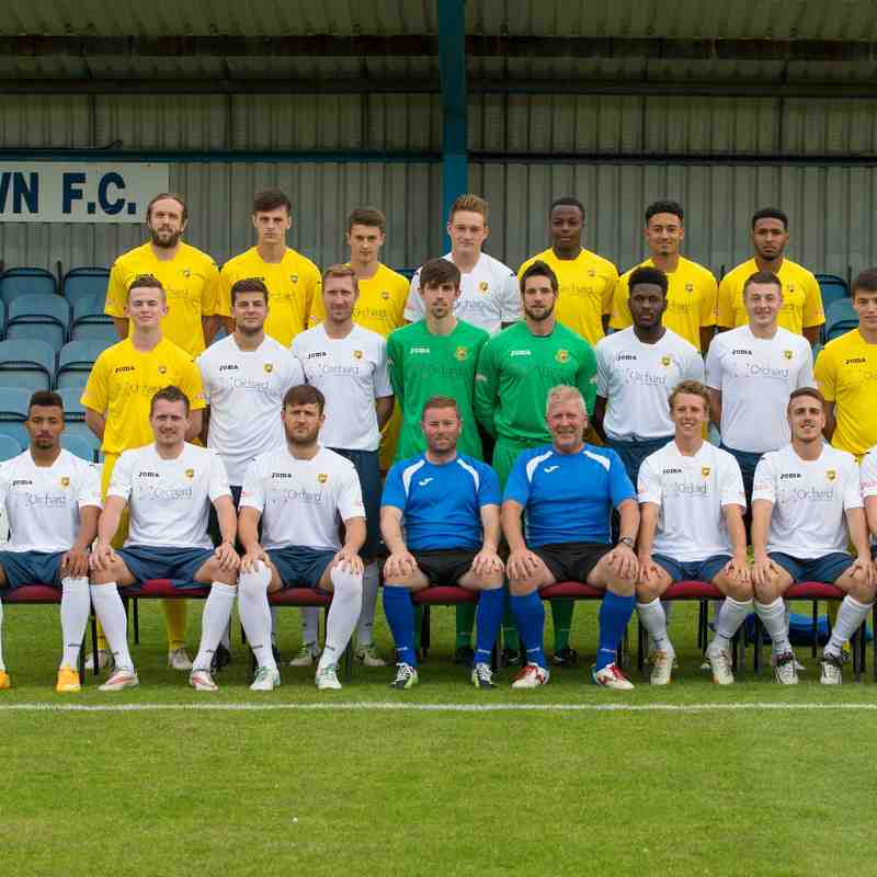Yate Town Team Photo 2015/2016