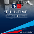Cadbury Heath 1-0 Yate Town