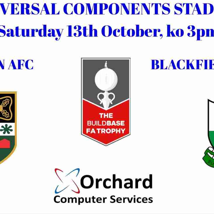 PREVIEW: Yate Town v Blackfield & Langley - FA Trophy