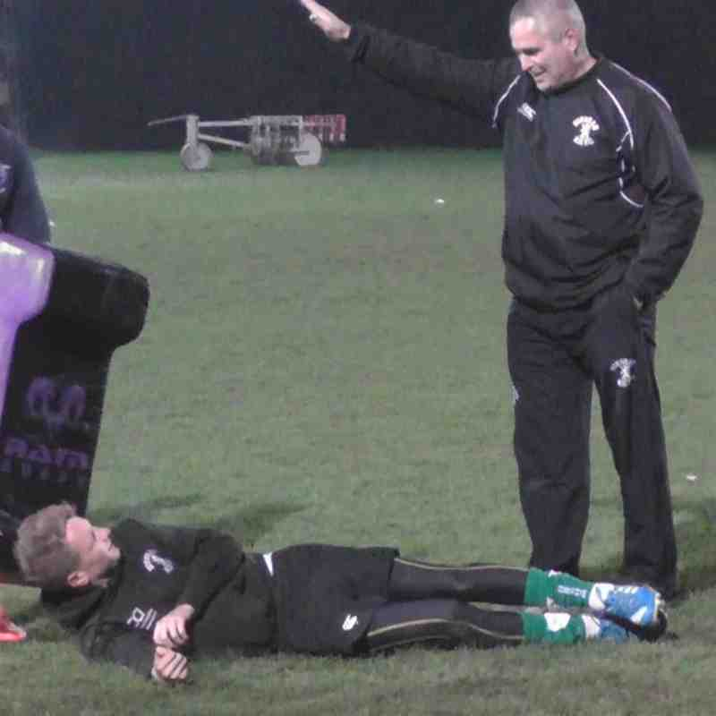 U16 Training 5/11/14 with Richard Bell, Paul Talbot and Ben Rush. Thanks again guys for another great session.