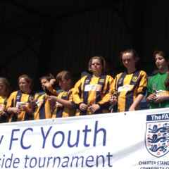 Tornadoes U13 Girls reach the cup final at the Marlow Tournament