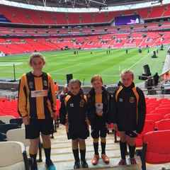 4 Lucky Tornadoes Girls get to be part of the Womens FA Cup Final