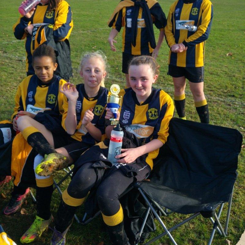 Rotherfield Utd v Tornadoes Girls U14 Nov 2016