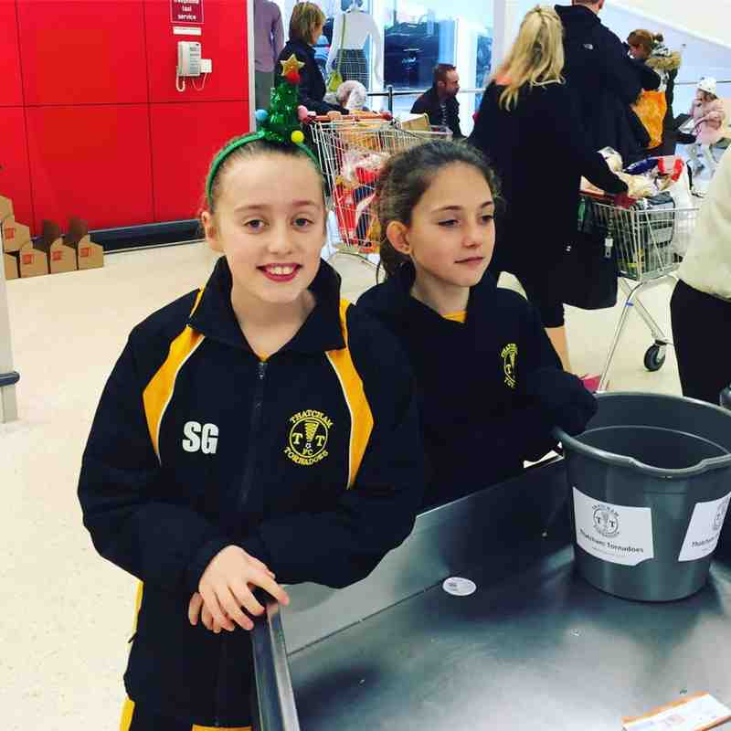 Tornadoes Girls Bag pack at Sainsburys Dec 2016