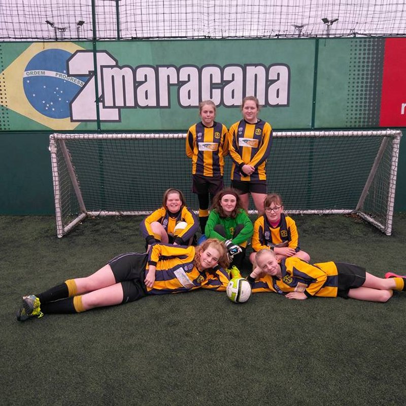 U14 Girls make their debut in the FA Peoples Cup