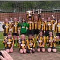 Tornadoes U14 Girls complete a League and Cup Double