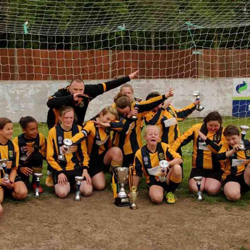 Tornadoes U14 Girls League Cup Final May 2017