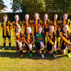U15 Girls New Kit