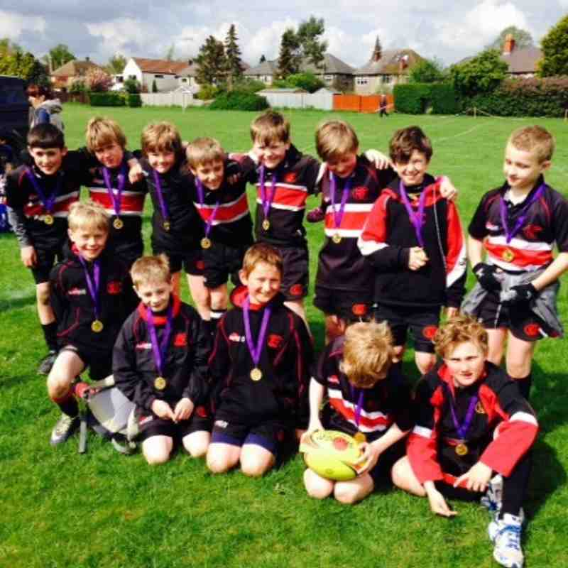 2014 Stamford Festival -  U10s Runners Up - Well done Boys !!
