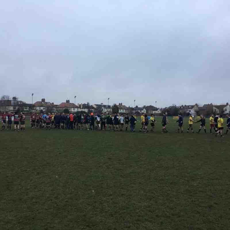 Ons 3s vs. Rushden and Higham