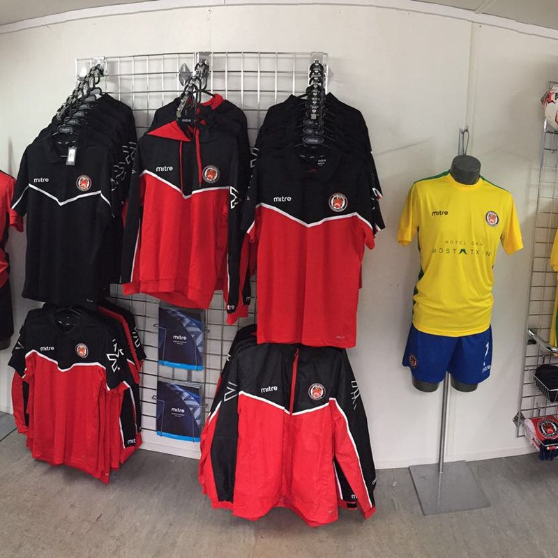 Revamped club shop open for business