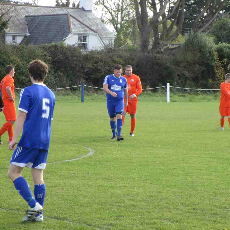 St Minver 2nds v Grampound Reserves - Sat 29 Oct 2016
