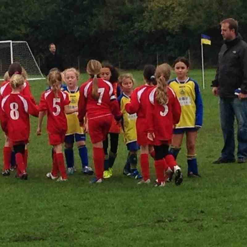 St Albans City V Hemel Hempstead Town Youth FC - U9 Girls