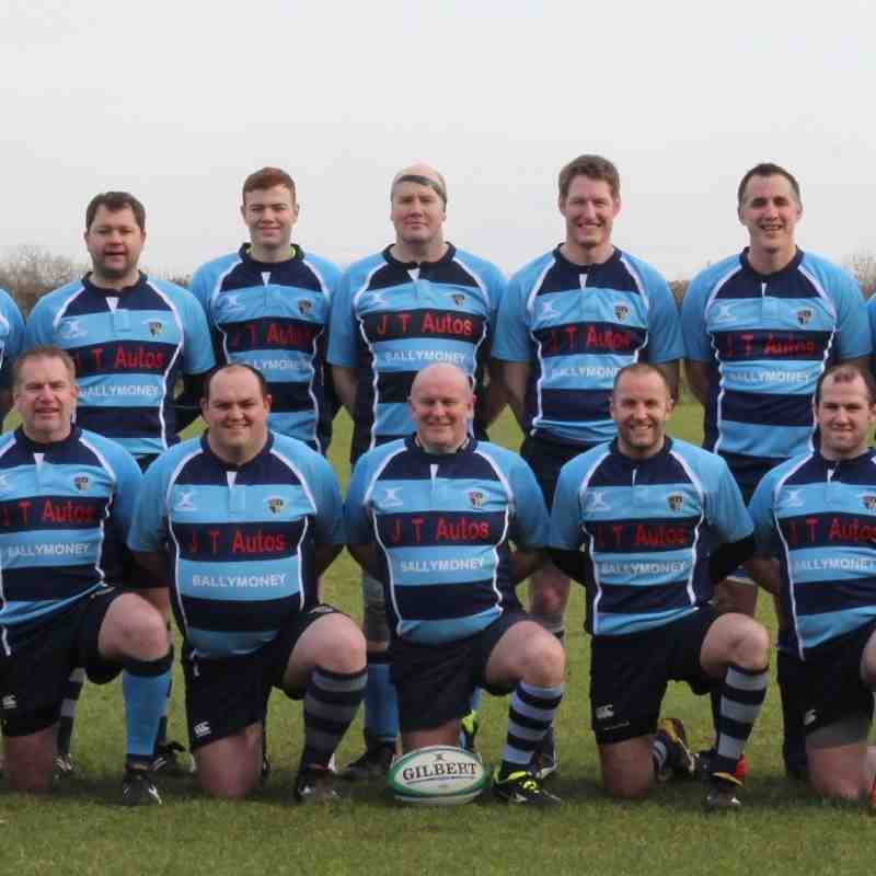 JT Autos Sponsor New Kit for Ballymoney 4th XV