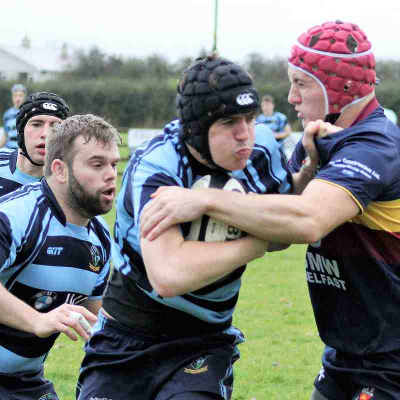 Ballymoney RFC 1st XV v Banbridge RFC 2nd XV, Qtr Final, Junior Cup Sat 21 Oct 2017
