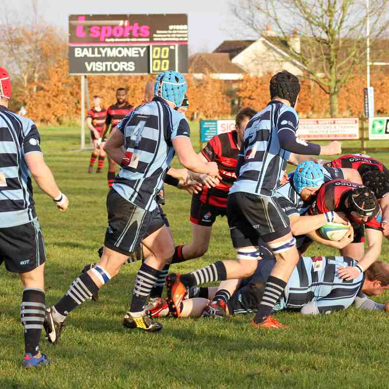 Ballymoney RFC 1st XV v Armagh RFC 2nd XV, Semi- Final, Junior Cup, Sat 25 Nov 2017