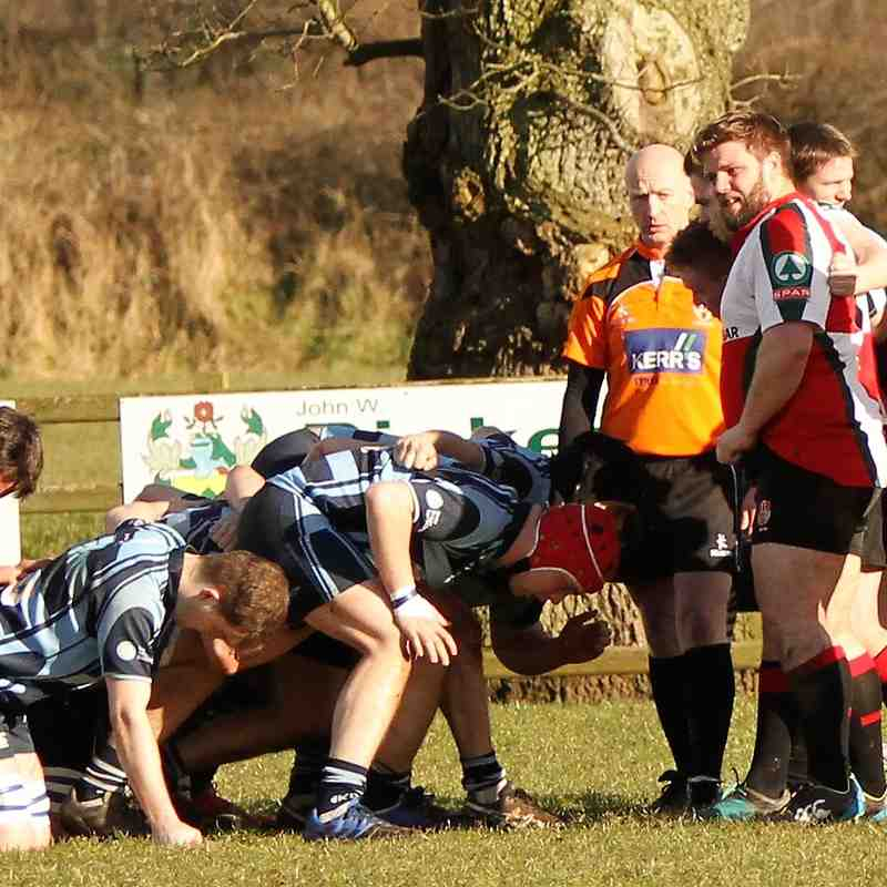Ballymoney RFC 1st XV v UUC 1st XV ,KQ2 League, Sat 17 Feb 2018