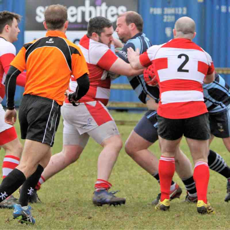 Ballymoney RFC 1st XV v Randalstown RFC 1st XV , KQ2 League, Sat 10 March 2018