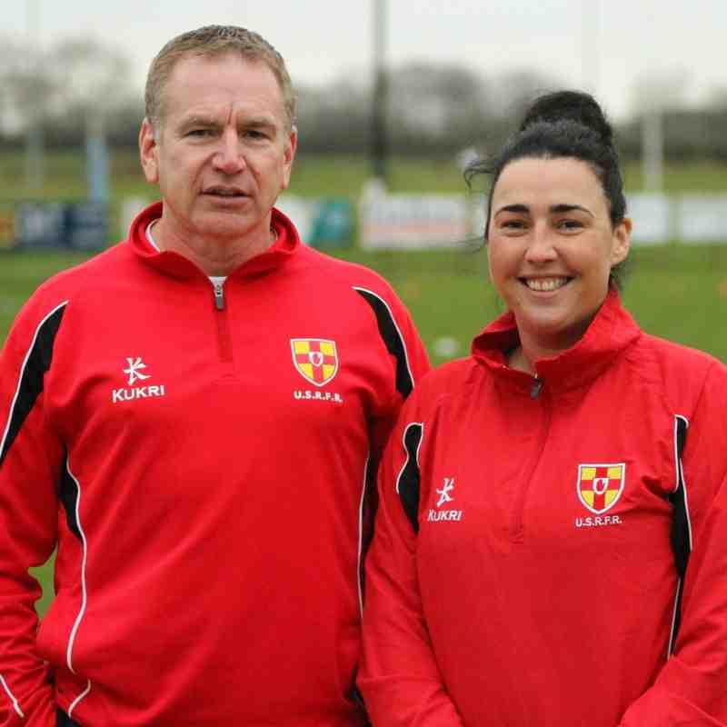 Ballymoney RFC 1st XV v Clogher Valley RFC 1st XV, Town's Cup, Sat 5 Jan 2019