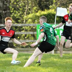 Ballymoney RFC host Ulster Rugby U20s Tournament, Easter Monday,   Ballymoney RFC, 22 April 2019. Photos by Uel McDowell