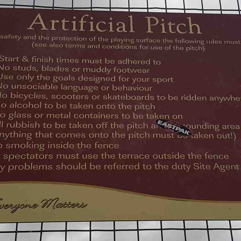 Vandyke Pitch Rules
