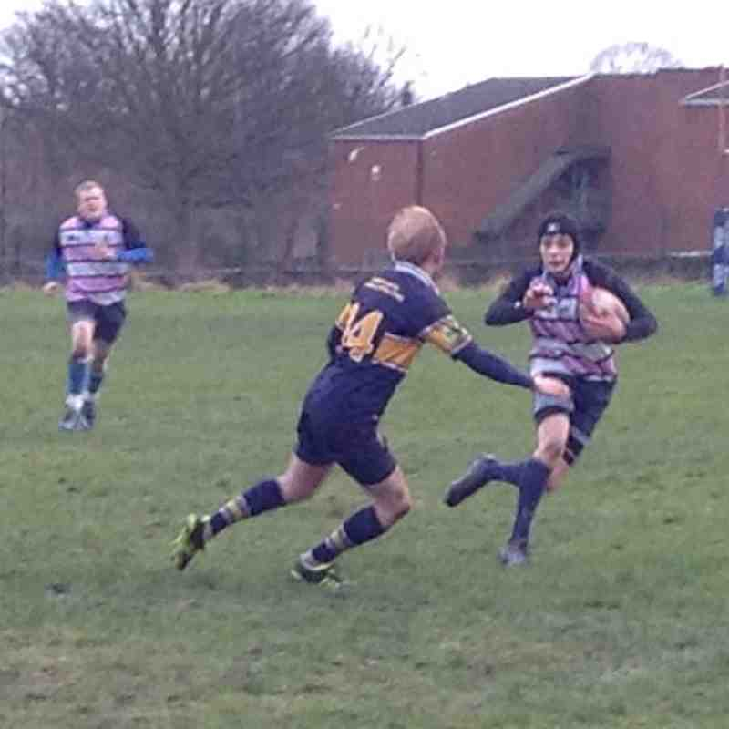 Dukes vs Crossleys 8th Feb 2014
