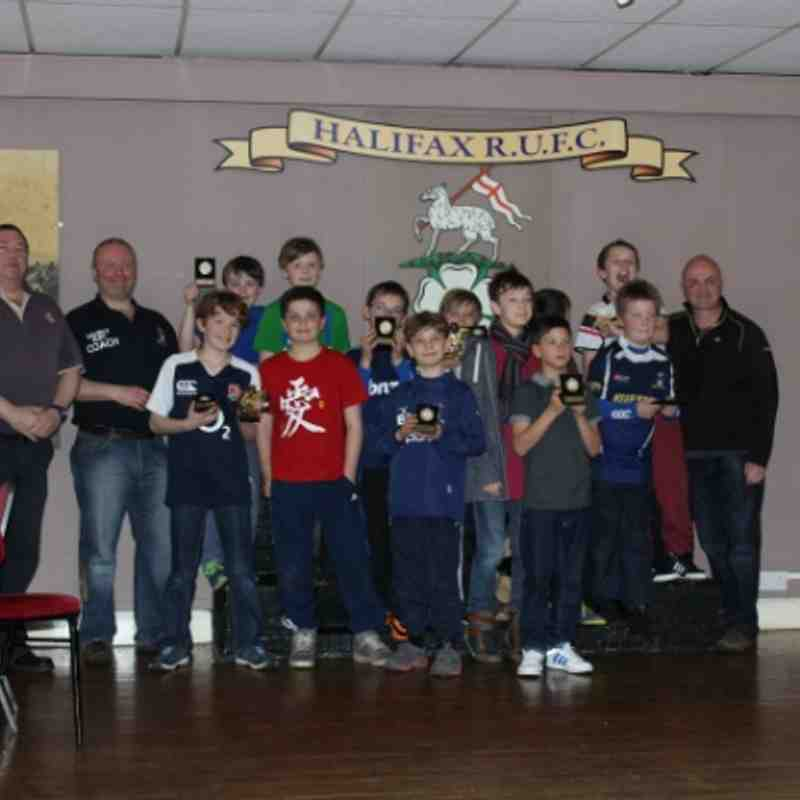 u11s end of season presentation 5th April 2014
