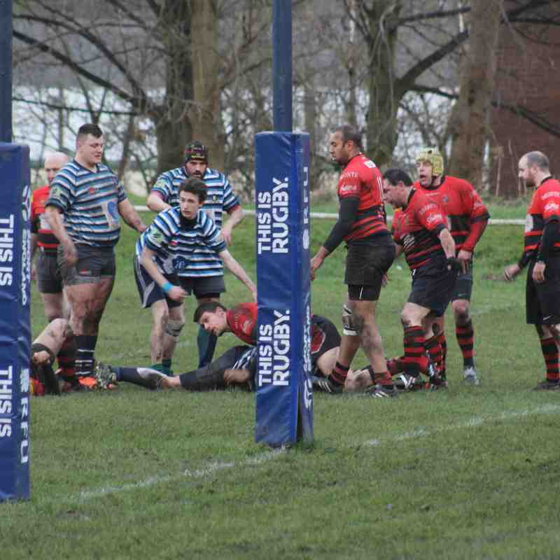 Dukes vs Huddersfield YMCA 7th January 2017