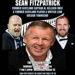 The Voice of Rugby Glasgow Dinner