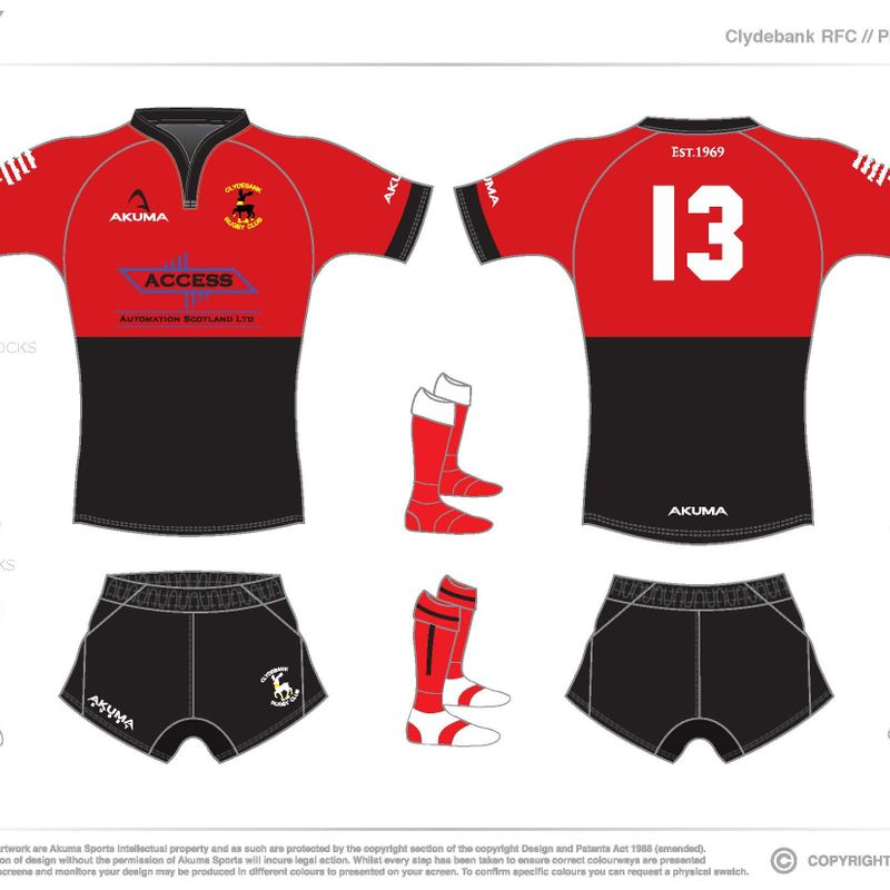 Touch Rugby Paisley: Clydebank Rugby Football Club