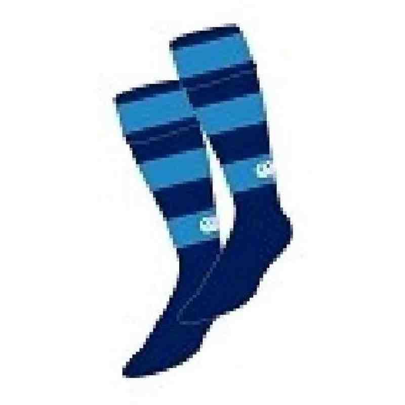 Falkirk RFC Hooped Socks