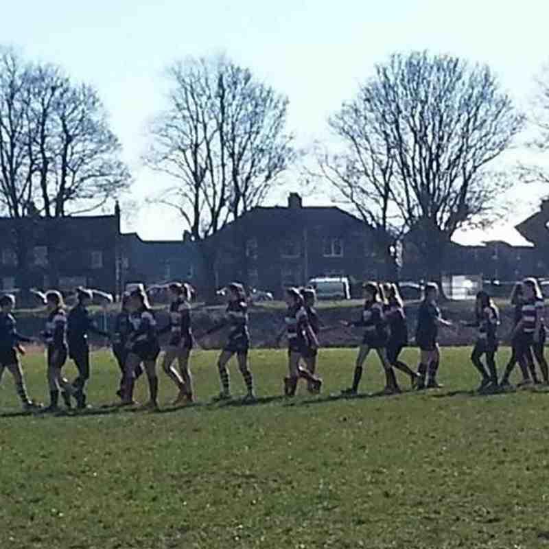 Girls u15's v Stirling